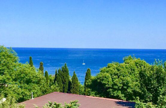3 комнатная квартира с видом на море в новом доме, Гурзуф
